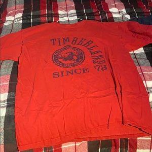 Panhandle Big Timber Shirt XL Orange